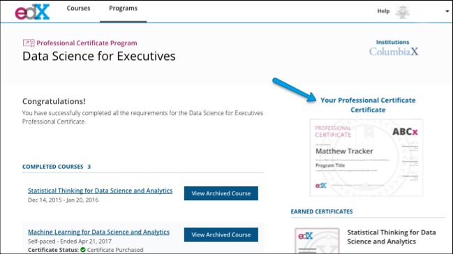 where can i find my program certificate? – edx help center